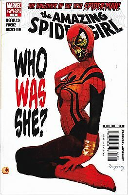 Zombie Variant The Amazing Spider-Girl #13