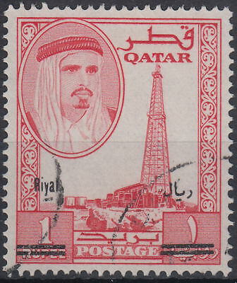 1966 Qatar Mi.169 fine used Freimarken definitives [ga718]
