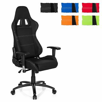 hjh OFFICE Gaming Stuhl Bürostuhl GAME FORCE Stoff Racing Chair hohe Rückenlehne