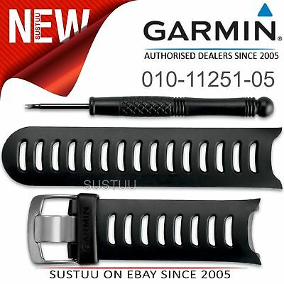 Garmin Black Replacement Watch Band Strap & Tool│For Forerunner 610│010-11251-05