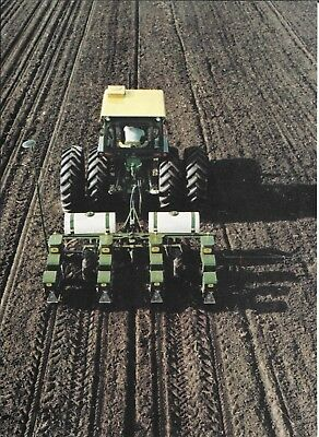1971 John Deere Plate Planters Pinpoint Control Of Population Ad