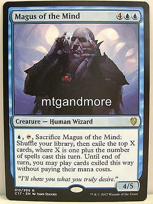 Magic Commander 2017 - 1x Magus of the Mind - Rare