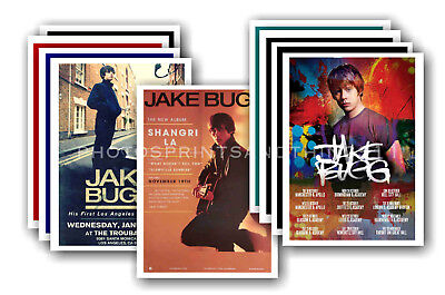 JAKE BUGG - 10 promotional posters  collectable postcard set # 1