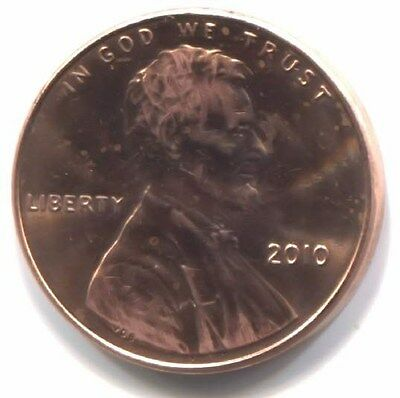 U.S. 2010 Lincoln Shield Penny - Uncirculated One Cent Coin Philadelphia Mint