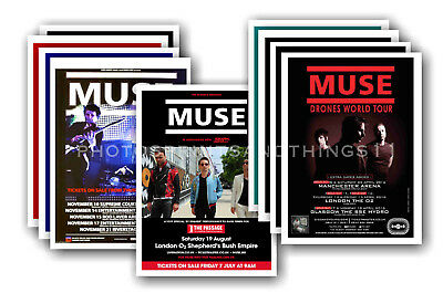 MUSE - 10 promotional posters  collectable postcard set # 2
