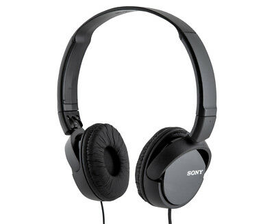 Sony MDR ZX110 Over Ear Headphones - Black