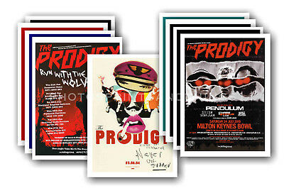 THE PRODIGY - 10 promotional posters  collectable postcard set # 1
