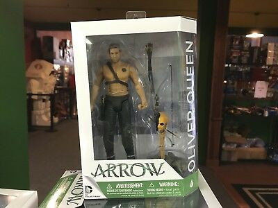 """2015 DC Direct Arrow TV Show 7"""" Inch Action Figure MOC - OLIVER QUEEN"""