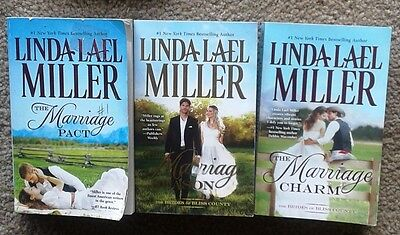 LINDA LAEL MILLER - Marriage Pact , Charm, Secrets (Bliss County Series )