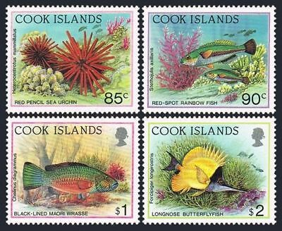 Cook Isl 1077/1081,MNH.Mi 1337-1340 a set issued 03.23.1992. Marine life.