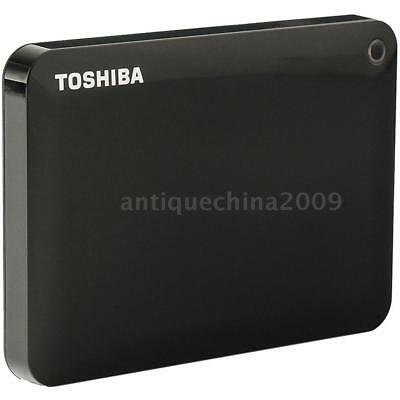"Toshiba 1TB 1T USB 3.0 Portable External Hard Drive 2.5"" HDD Backup Storage A2V5"