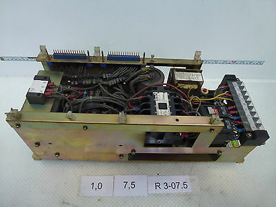 Fanuc A06B-6047-H201 Velocity Control Unit Without Control Board