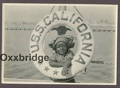ALLEN FARINA HOSKINS Black Child Actor Our Gang 1924 Photo The Buccaneers Young