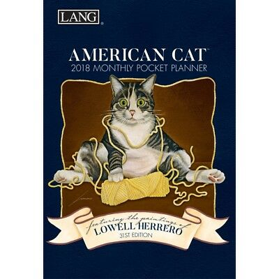 Lowell Herrero American Cat Planner with Pocket
