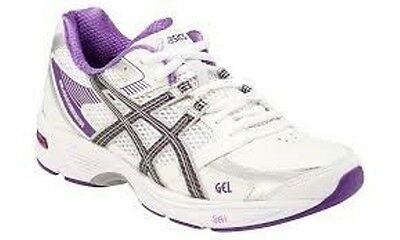 Bn  Womens Size Us10 Asics Gel Lawn Bowls Shoes - P380Y -D Fitting