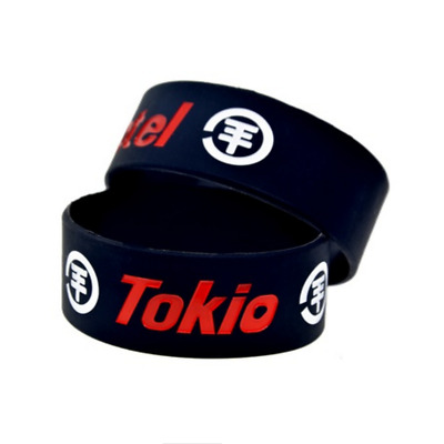 Tokio Hotel rock band music Silicone Rubber Wristband bracelet jewelry new