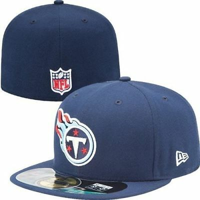 TENNESSEE TITANS NFL On Field Fitted 59FIFTY Kids Hat 6 3 4 6 5 8 ... e3b2e301fbbb