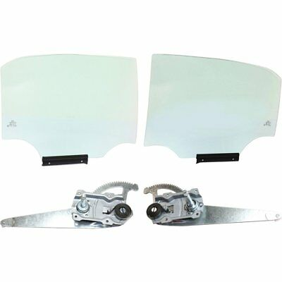 New Door Glass Rear Driver Left Side LH Hand for Toyota Corolla 09-13 6810402250