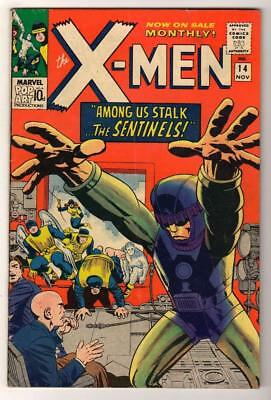 Marvel Comics FN+ 6.5   X MEN  # 14  SENTINEL 1st APPEARANCE 1965