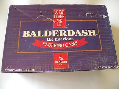 Balderdash - The Hilarious Bluffing Game - 100% Complete - Board Game - 1984