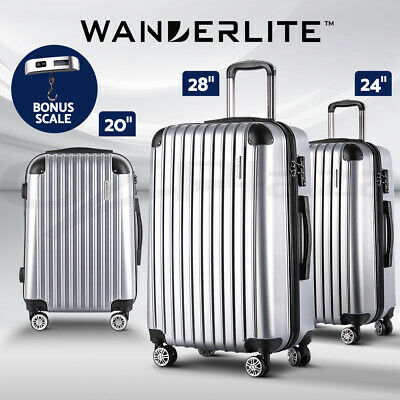 "20%OFF【$61】28"" Luggage Sets Suitcase Trolley TSA Travel Hard Case Lightweight"