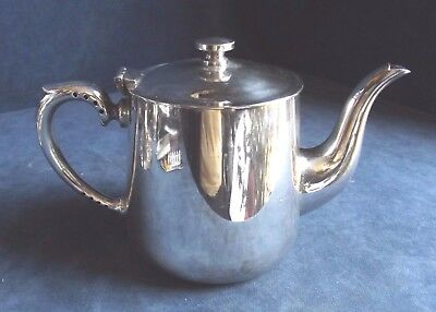 SUPERB ~ SILVER Plated ~ ART DECO ~ TEAPOT ~ c1930 by Harrison Fisher