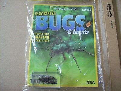 National Geographic Real-life Bugs & Insects magazine Issue 53