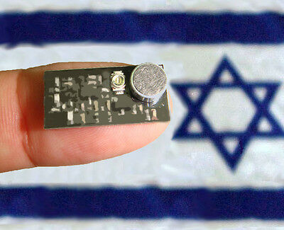 Micro Spy Bug - Radio FM Transmitter only of nail size ... Made in ISRAEL !!!