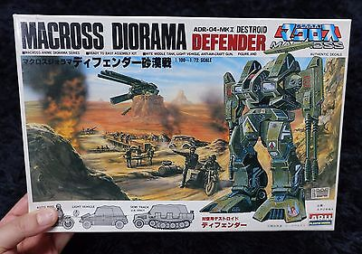 Macross Diorama DESTROID DEFENDER DESERT COMBAT  ARII MODEL KIT ROBOTECH