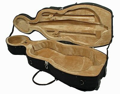 black Cello Case, Cello Case in the Sizes 1/8 to 4/4