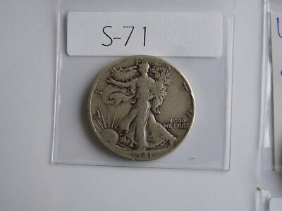 Vintage  Usa  1941   50 Cent Silver     S71