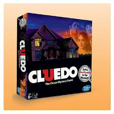 Hasbro Family Favourites Cluedo The Classic Mystery Game Mini Board Game New
