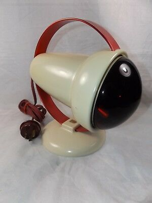 Vintage Philips Infraphil Infrared Heat Lamp ~ For Tired, Sore Muscles