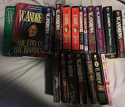 Lot Of 19 VC Andrews Paperback And Hardback Books