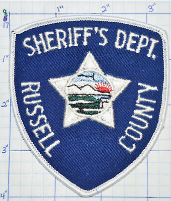 Kansas, Russell County Sheriff's Dept Patch