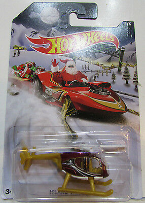 "Hot Wheels Walmart exclusive 2015 Holiday Hot Rods "" ISLAND HOPPER "" 1/6 X-MAS"
