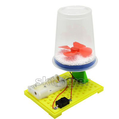 Static Electric Snow DIY Scientific Experimental Hand Toys Hobbies Kids Gift