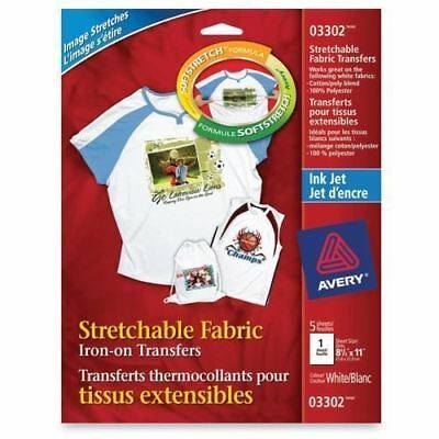 Avery 03302 Iron-on Transfer Paper 03302