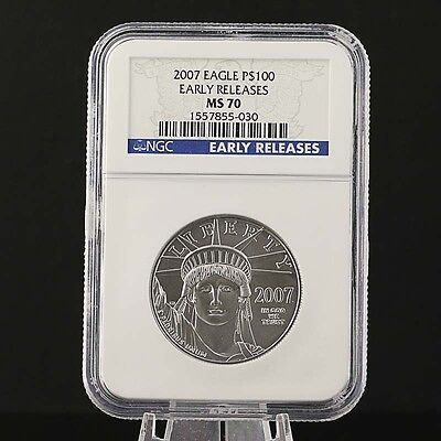 2007 Platinum American Eagle Münze 9995 platinum Early Freigabe-MS 70 NGC