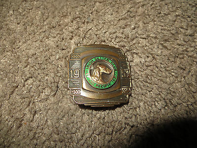 Vintage 1957 Belt Buckle Irish Setter Club of The Pacific (SF)