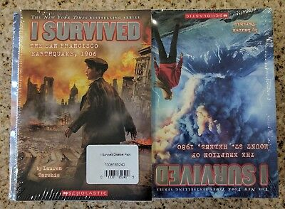 New I Survived Series Paperback Complete 14 Book Set by Lauren Tarshis SEALED