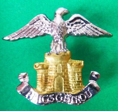 SOUTH AFRICA ARMY HEIDELBERG COMMANDO scarce AFRICAN SADF EAGLE CASTLE CAP BADGE