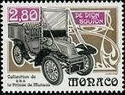 """MONACO STAMP TIMBRE 1942 """" VOITURE ANCIENNE DE DION BOUTON 1903"""" NEUF xx LUXE"""