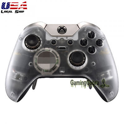 Remote Controller  Front Shell Cover Repair Mod Transparent  for Xbox One Elite