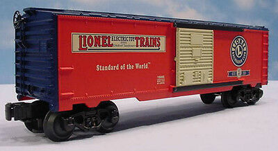 LIONEL LRRC 25th ANNIVERSARY BOX CAR #6-19995,  MIB NO MORE CARS TO BE MADE