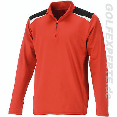 Wilson Staff golf hommes THERMAL TECH COUCHE Full-zip Rouge