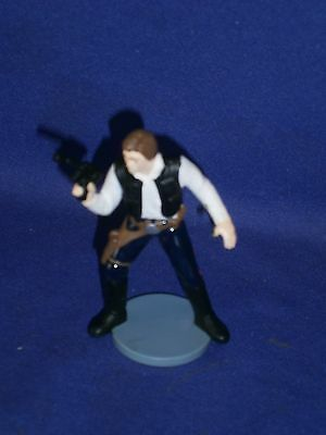 Vintage Star Wars Han Solo PVC Figure by Applause 1995 3 inch