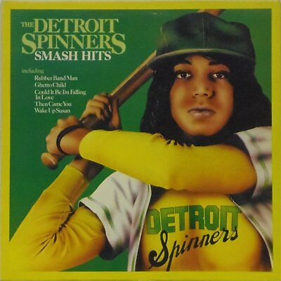 The Detroit Spinners 'smash Hits' Uk Pressed Lp