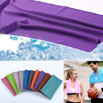 Fitness Dry Cooling Sports Towel For Gym Best Workout face Iced Sweat Towel