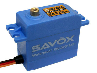Savox SW0231MG Waterproof High Torque STD Metal Gear Digital Servo #SAV-SW0231MG